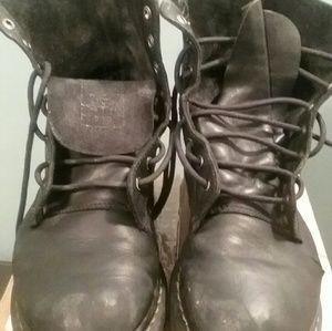 Black Dr. Martens Pascal Boots